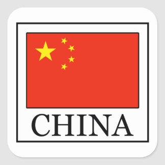 Sticker Carré La Chine