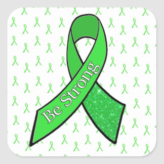 """Sticker Carré La conscience de la maladie de Lyme, soit"""""""