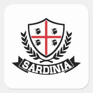 Sticker Carré La Sardaigne Italie