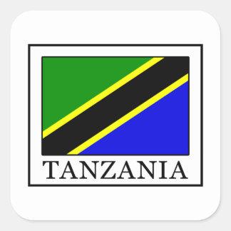 Sticker Carré La Tanzanie