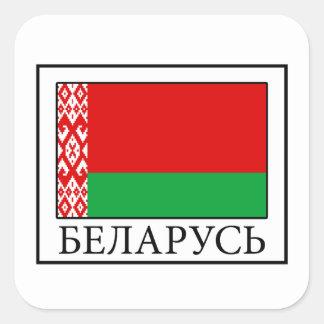 Sticker Carré Le Belarus