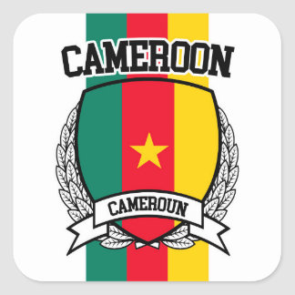 Sticker Carré Le Cameroun