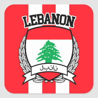 Sticker Carré Le Liban
