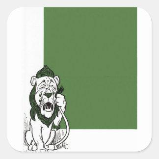 Sticker Carré Le magicien d'Oz merveilleux
