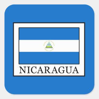 Sticker Carré Le Nicaragua