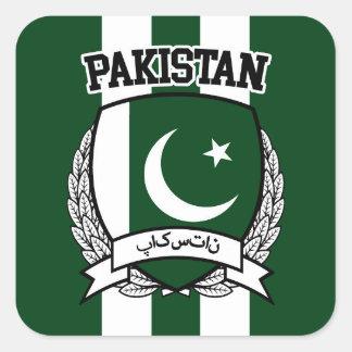 Sticker Carré Le Pakistan