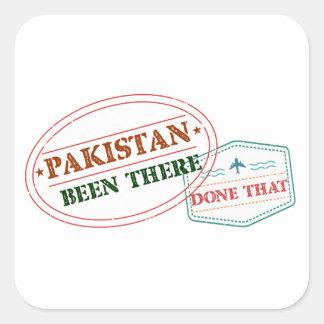 Sticker Carré Le Pakistan là fait cela