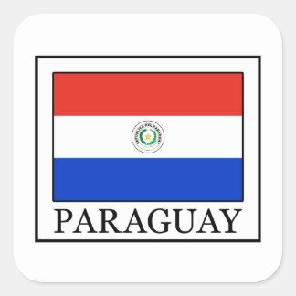 Sticker Carré Le Paraguay
