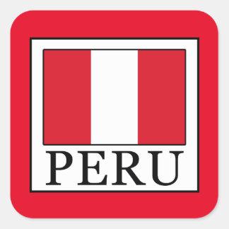 Sticker Carré Le Pérou