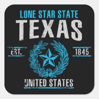 Sticker Carré Le Texas