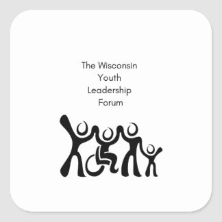 Sticker Carré Le Wisconsin YLF