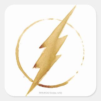 Sticker Carré L'emblème | jaune instantané de coffre