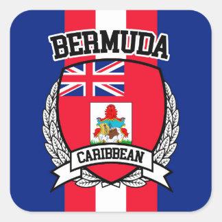 Sticker Carré Les Bermudes