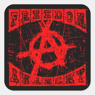 Sticker Carré liberté