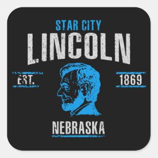 Sticker Carré Lincoln
