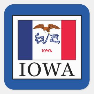 Sticker Carré L'Iowa