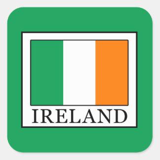 Sticker Carré L'Irlande