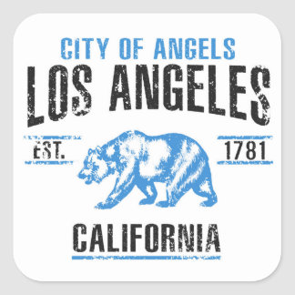 Sticker Carré Los Angeles