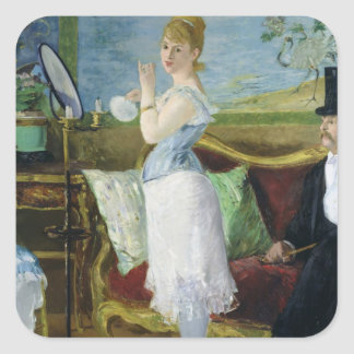 Sticker Carré Manet | Nana, 1877
