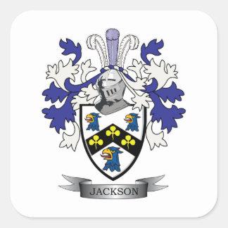 Sticker Carré Manteau de Jackson des bras