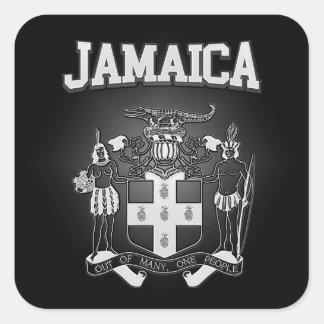 Sticker Carré Manteau de la Jamaïque des bras