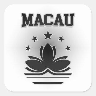 Sticker Carré Manteau de Macao des bras