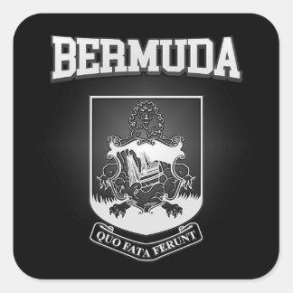 Sticker Carré Manteau des Bermudes des bras
