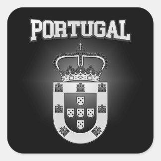Sticker Carré Manteau du Portugal des bras
