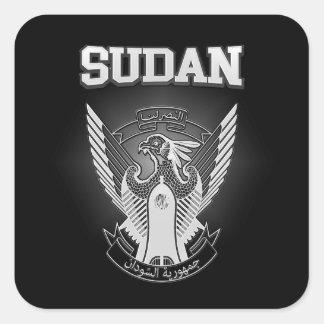 Sticker Carré Manteau du Soudan des bras