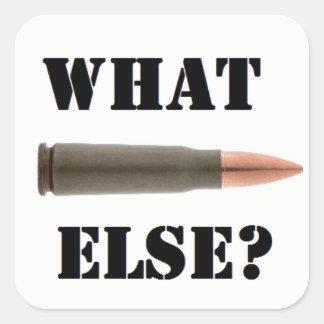 Sticker Carré Munition 7.62x39