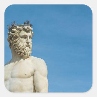 Sticker Carré Neptune dans Florence02