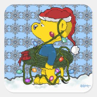 Sticker Carré Noël de Ferald |