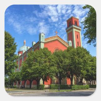 Sticker Carré Nouvelle église luthérienne dans Kezmarok,