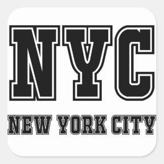 Sticker Carré NYC New York City