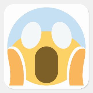 Sticker Carré OMG Maupassant Emoji