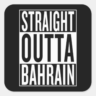 Sticker Carré outta droit Bahrain