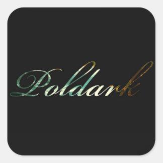 Sticker Carré Poldark