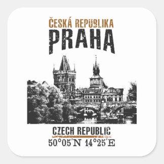 Sticker Carré Prague