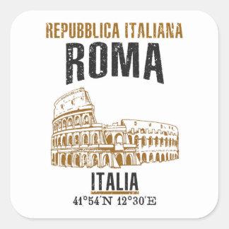 Sticker Carré Roma