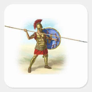Sticker Carré Romains