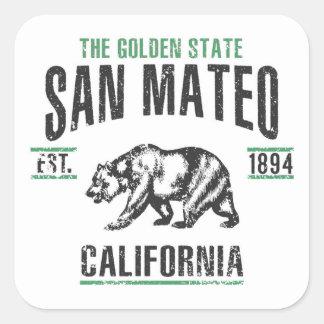 Sticker Carré San Mateo