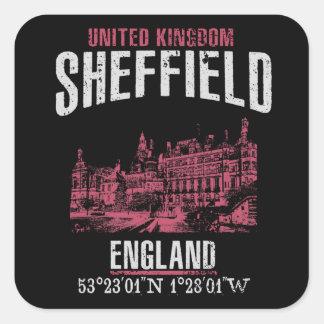 Sticker Carré Sheffield