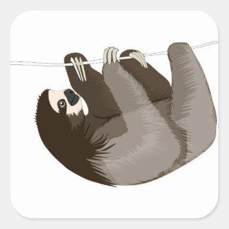 Sticker Carré slothcolour