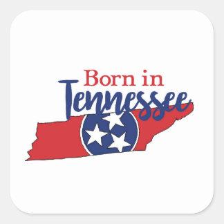Sticker Carré Soutenu au Tennessee