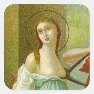 Sticker Carré St Agatha (M 003)