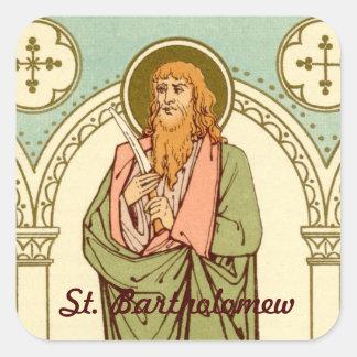 Sticker Carré St Bartholomew l'apôtre (RLS 03)