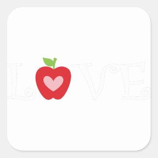 Sticker Carré teacher2