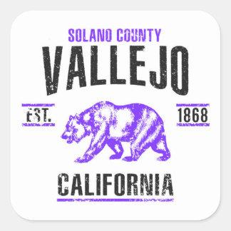 Sticker Carré Vallejo