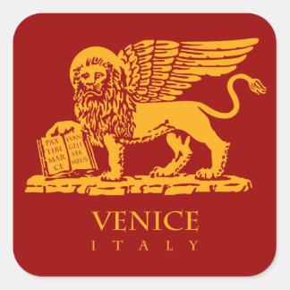 Sticker Carré Venise (IT) - le manteau des bras