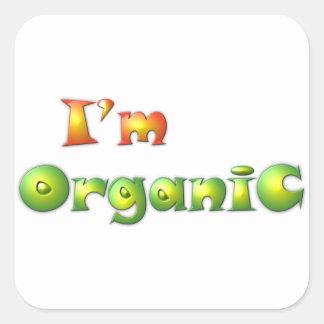 Sticker Carré Volenissa - je suis organique